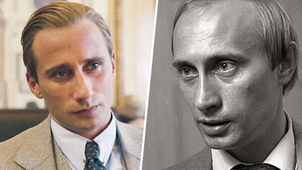 Matthias Schoenaerts et Vladimir Putin - Sputnik France