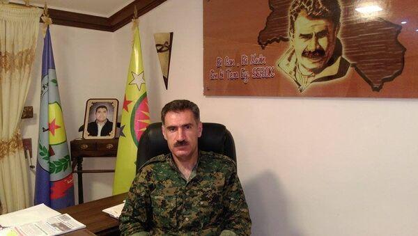 Abdo Ibrahim, ministre de la Défence du district kurde d'Afrin - Sputnik France