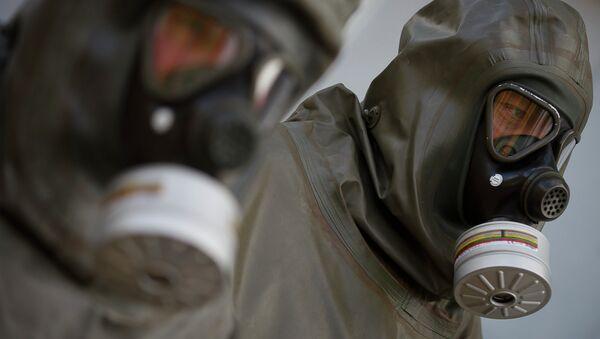 Un dispositif de protection contre les armes chimiques - Sputnik France