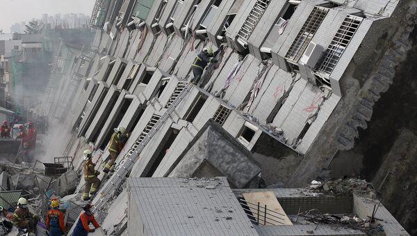 Conséquences du séisme de Taïwan - Sputnik France
