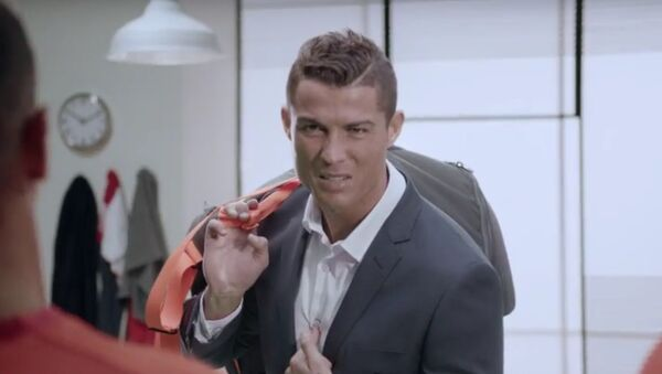 Ronaldo - Sputnik France
