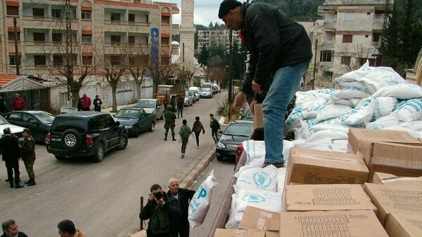 Сирия-гуманитарная помощь - Sputnik France