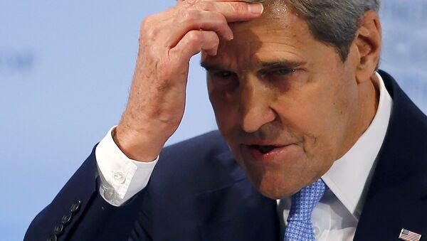 Le secrétaire d'Etat américain John Kerry lors de la Conférence de Munich sur la sécurité - Sputnik France