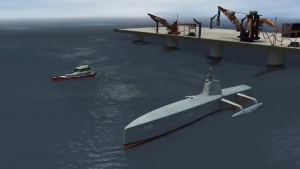 Le navire sans pilote de lutte anti-sous-marine (ACTUV) - Sputnik France