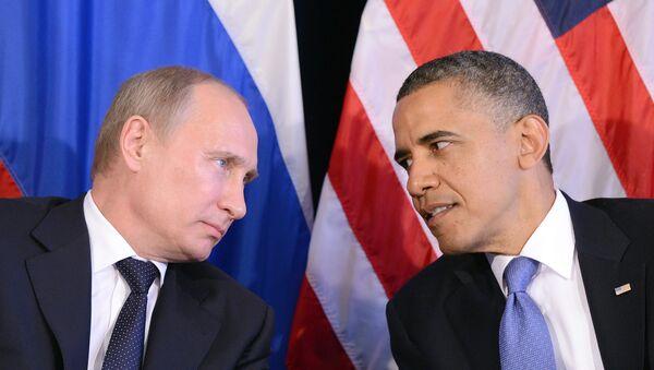 Les présidents russe et américain, Vladimir Poutine et Barack Obama - Sputnik France