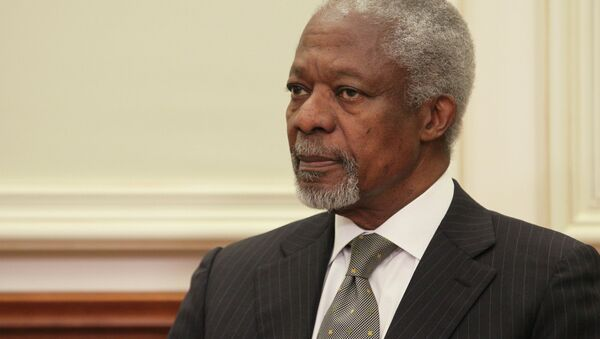 Kofi Annan - Sputnik France