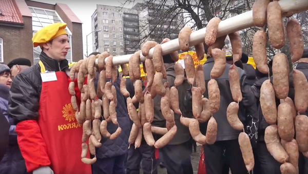 La Journée du long saucisson à Kaliningrad - Sputnik France