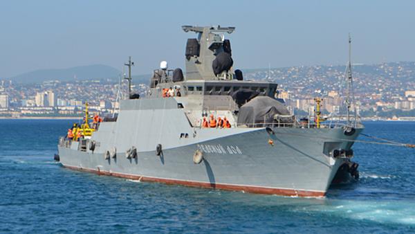 Le navire lance-missiles russe Zeleny Dol - Sputnik France
