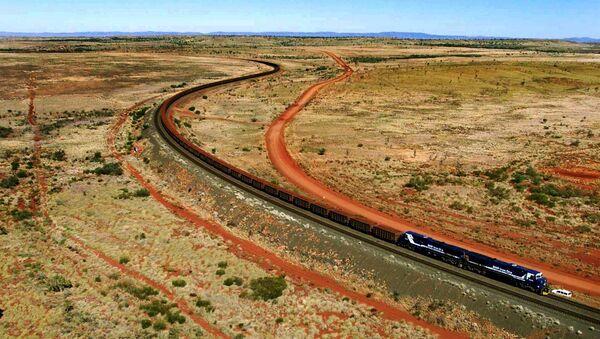 Le train en Australie. Photo d'archives - Sputnik France