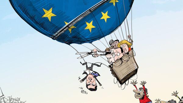 Bruxelles donne trois mois à la Grèce pour sécuriser ses frontières - Sputnik France