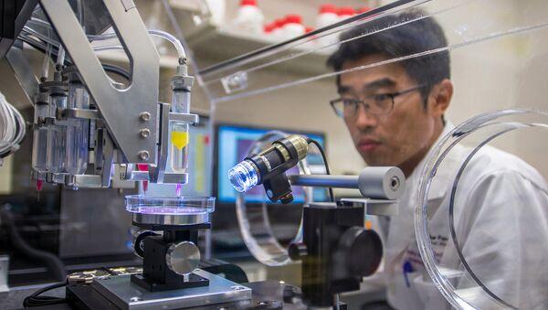 Les chercheurs créent une imprimante 3D pour imprimer des organes humains - Sputnik France