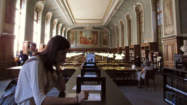 bibliothèque de Sorbonne - Sputnik France