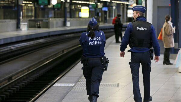 Policiers belges - Sputnik France