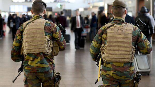 l'aéroport de Bruxelles à Zaventem, à l'est de Bruxelles - Sputnik France