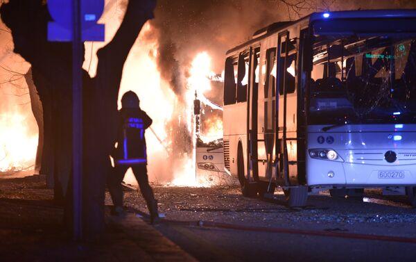 Explosion à Ankara - Sputnik France