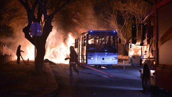 Heftige Explosion in türkischer Hauptstadt Ankara - Sputnik France