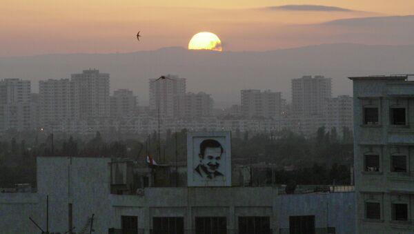 La ville d'Homs en Syrie - Sputnik France