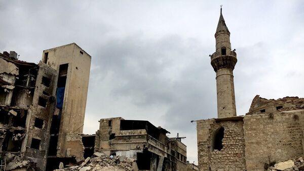 Old Town destruction in Aleppo. - Sputnik France