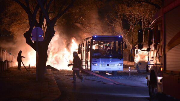 Attaque à Ankara - Sputnik France