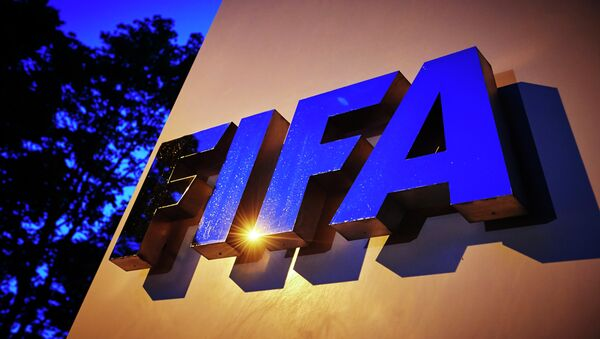 Logo de FIFA - Sputnik France