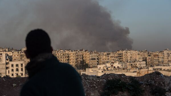 Ситуация в сирийском городе Алеппо - Sputnik France