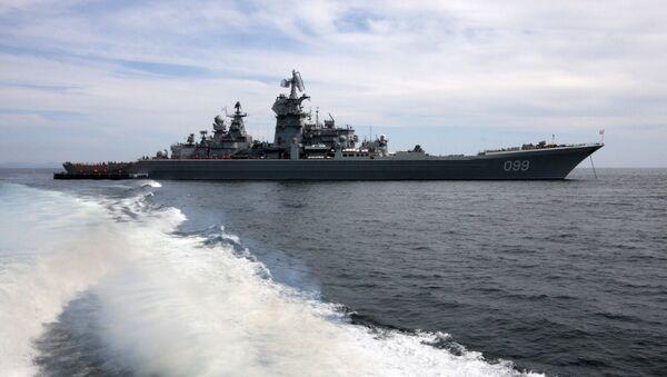 croiseur russe Piotr Veliki - Sputnik France