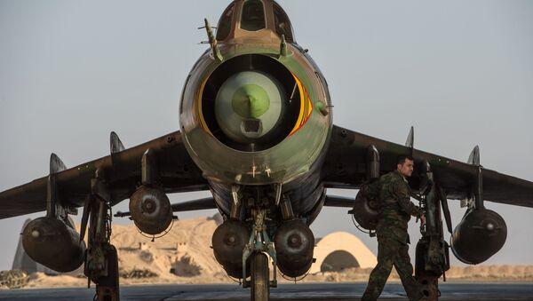 Su-22 syrien - Sputnik France