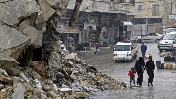 Deux villes syriennes assiégées appellent à l'aide - Sputnik France
