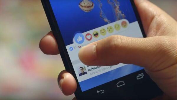 Facebook Reactions - Sputnik France