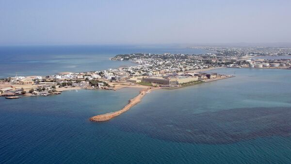 Une vue aérienne de Djibouti - Sputnik France
