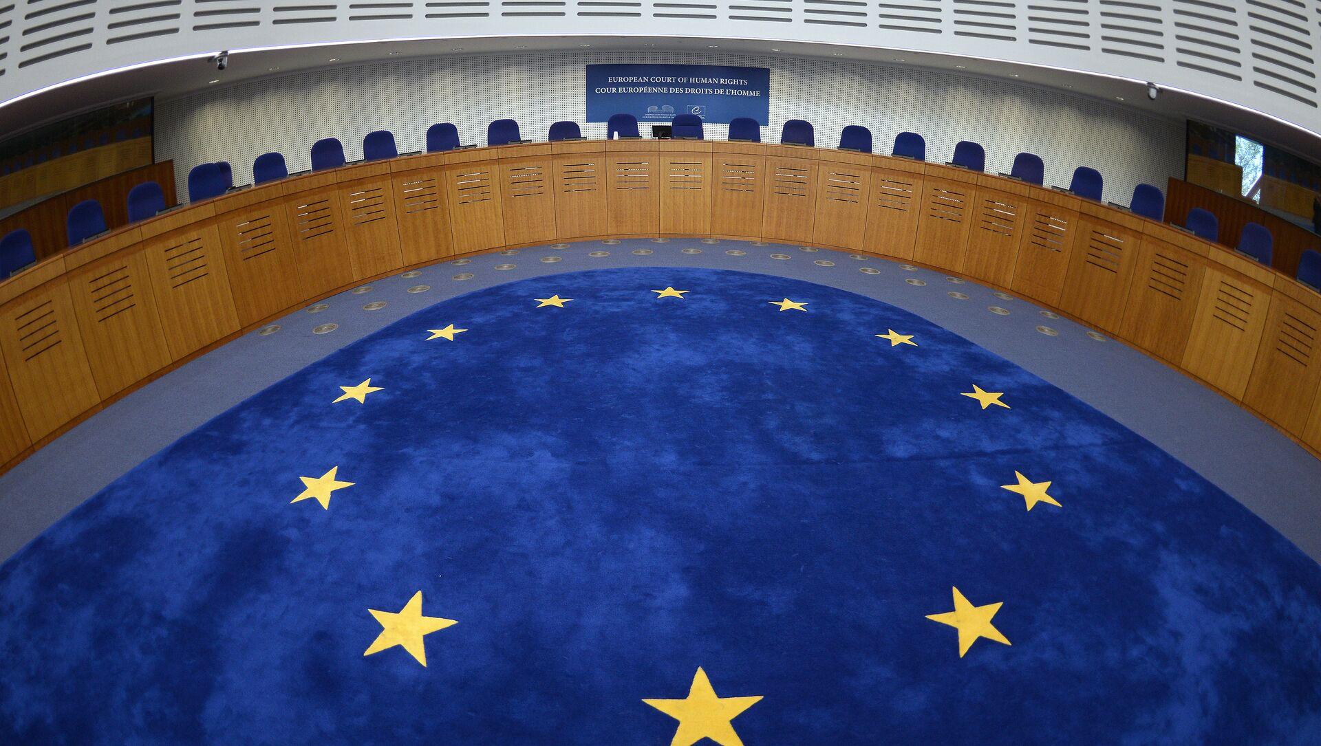 La Cour européenne des droits de l'homme (CEDH) - Sputnik France, 1920, 25.08.2021