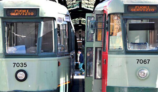 Une grève des employés des transports en commun en Italie - Sputnik France