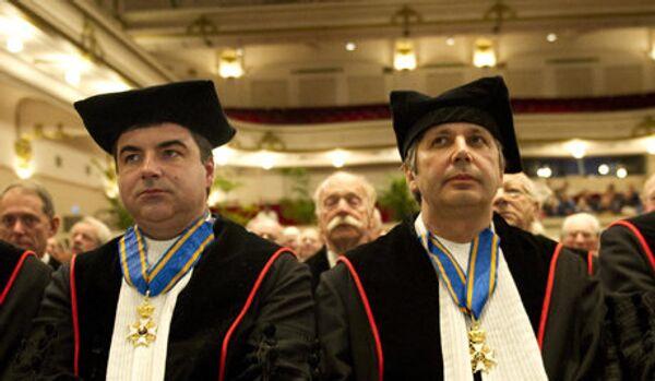 Le lauréat du prix Nobel d'origine russe devient chevalier - Sputnik France