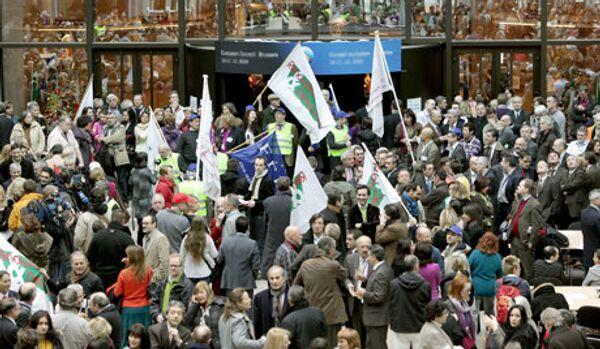 La manifestation contre les embouteillages se déroule dans le centre de Bruxelles - Sputnik France