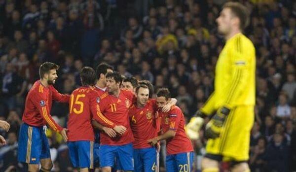 L'Euro 2012 : l'Espagne et l'Italie ont ouvert le Groupe C avec un match nul - Sputnik France
