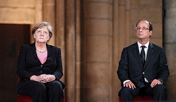 François Hollande veut que la Grèce reste dans la zone euro - Sputnik France