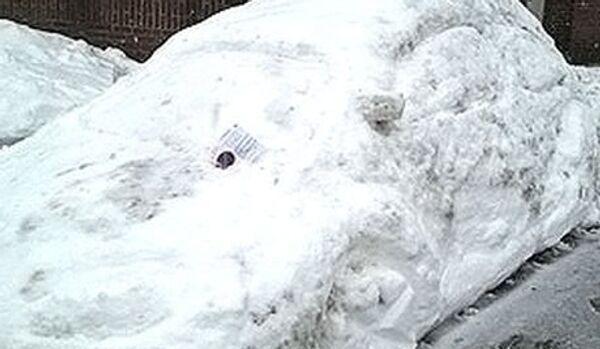 Allemagne : une amende pour une voiture de neige mal stationnée - Sputnik France