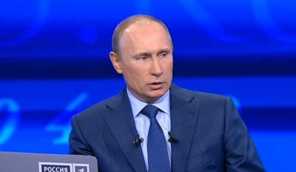 Vladimir Poutine parle de la politique internationale - Sputnik France