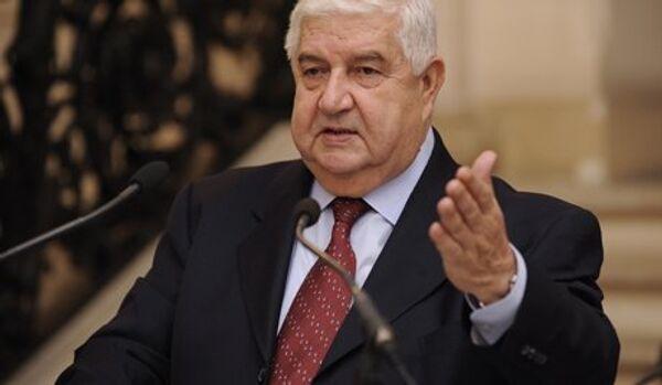 L'Occident empêche l'arrêt des violences en Syrie (Walid Mouallem) - Sputnik France