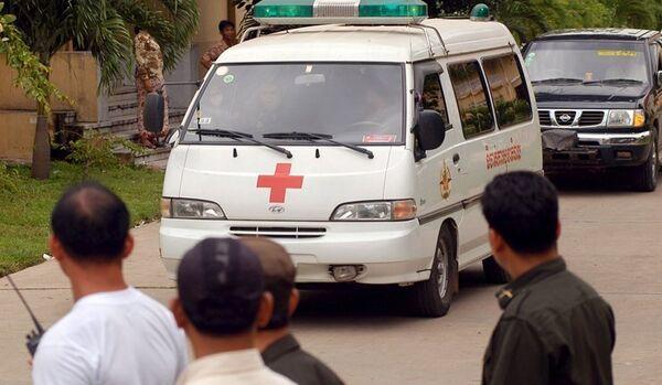 L'effondrement d'un pont au Cambodge fait 24 blessés - Sputnik France