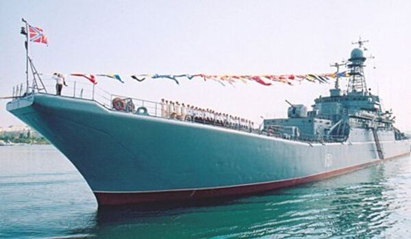 Deux navires ont rejoint l'escadre méditerranéenne russe - Sputnik France