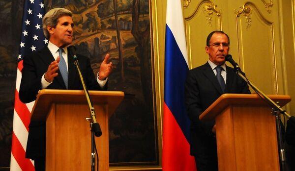 Lavrov et Kerry évoquent la préparation de la conférence sur la Syrie - Sputnik France