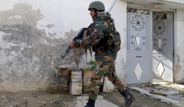L'armée syrienne a confisqué le sarin aux rebelles - Sputnik France