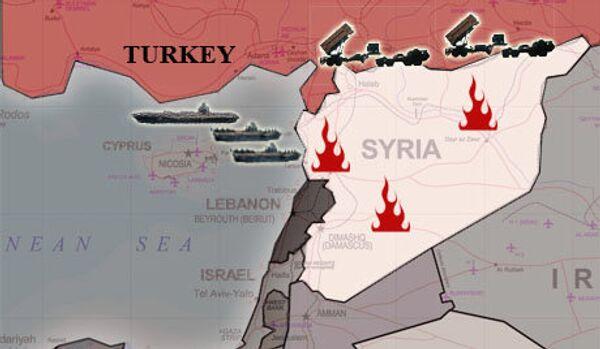 Les soldats turcs ont ouvert le feu sur le territoire de la Syrie - Sputnik France