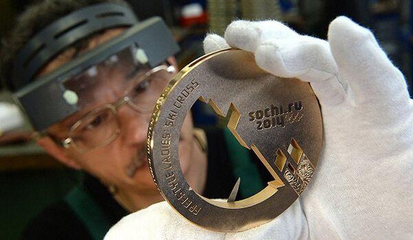 1300 médailles seront fabriqués pour les Jeux olympiques de 2014 à Sotchi - Sputnik France