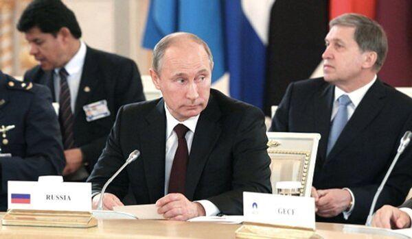 Entretiens Poutine-présidents des pays exportateurs de gaz - Sputnik France