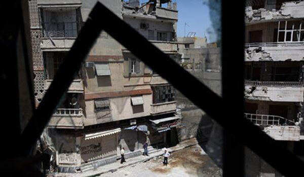 Les troupes gouvernementales syriennes ont pris Homs d'assaut - Sputnik France