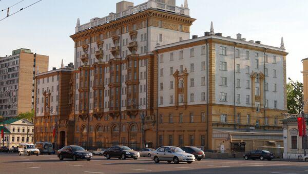 L'ambassade des Etats-Unis à Moscou - Sputnik France