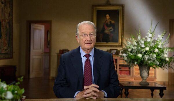 Le roi de Belgique a prononcé son discours d'adieu - Sputnik France