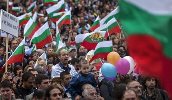 Bulgarie : les manifestants ont commencé une marche à travers le pays - Sputnik France